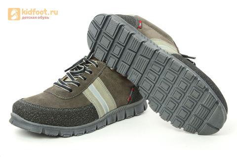 Ботинки Лель (LEL) для мальчика, цвет Коричневый, 6-1045. Изображение 10 из 15.