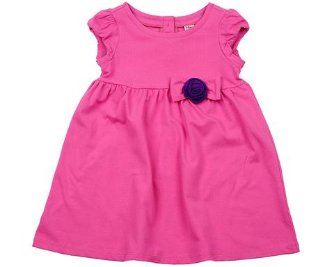 Малиновое платье с розой Mini-Maxi (арт.UD 2689(1))