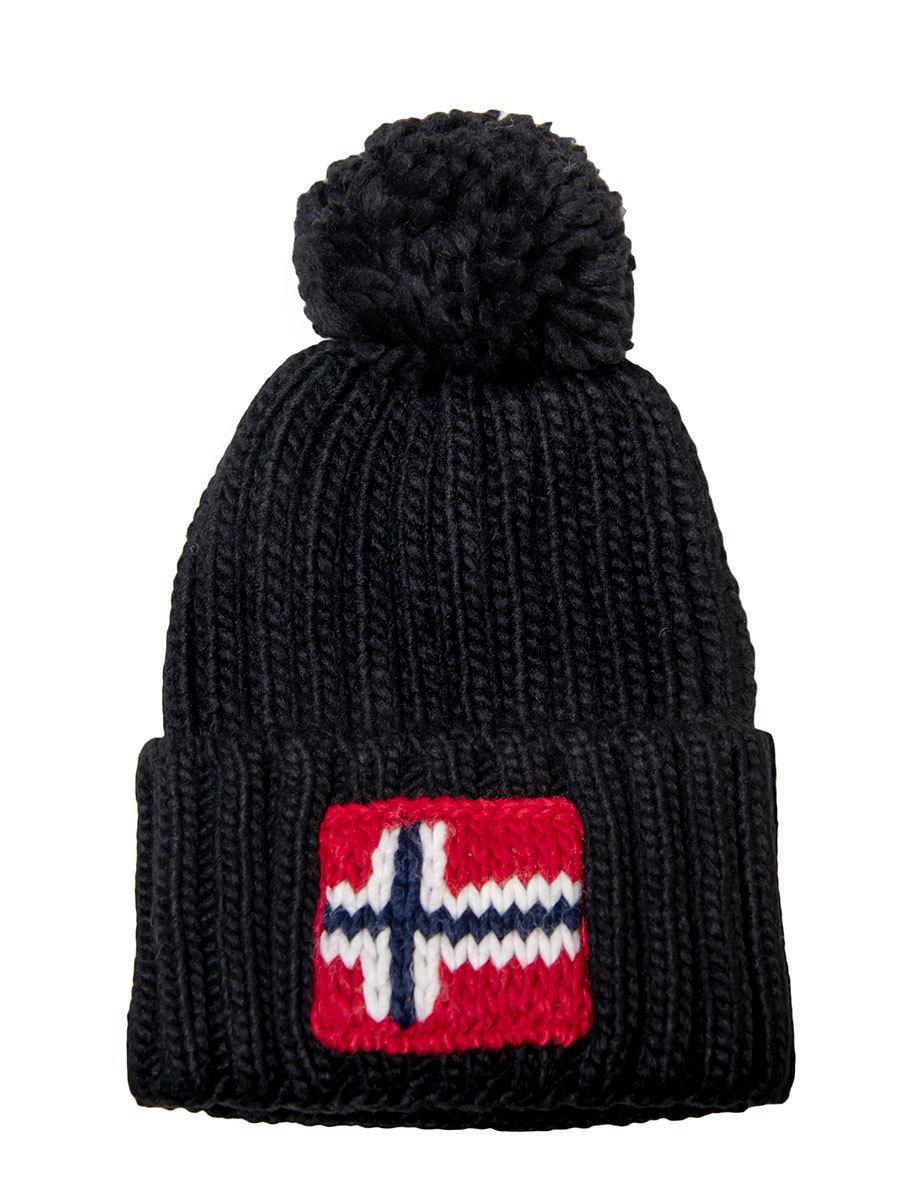 Napapijri шапка Semiury 3 черный - Фото 1