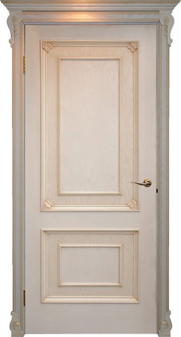 Дверь Гранд Модерн Авелана (светлое дерево, глухая, массив хвойных пород)