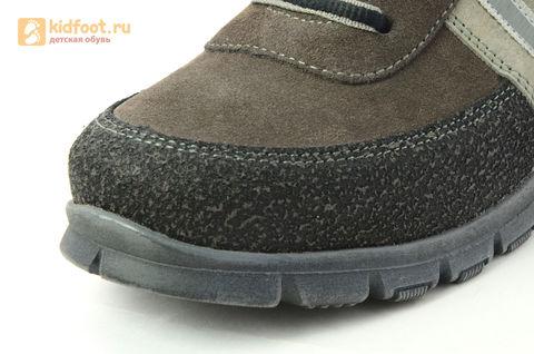 Ботинки Лель (LEL) для мальчика, цвет Коричневый, 6-1045. Изображение 12 из 15.
