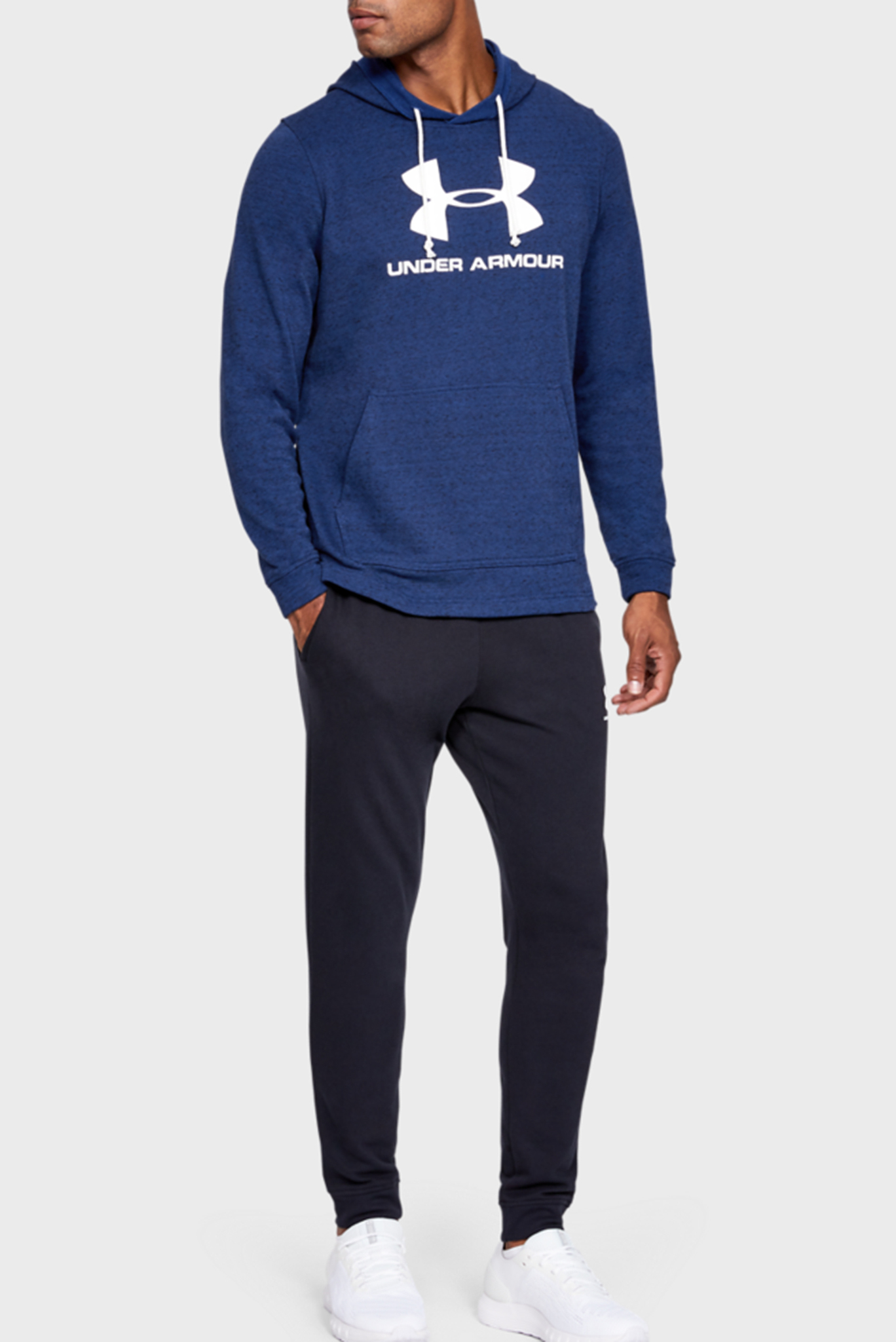 Мужское синее худи SPORTSTYLE TERRY LOGO Under Armour