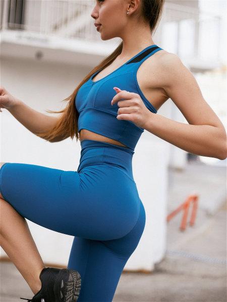 Шорты Biker Shorts Basic Aquamarine
