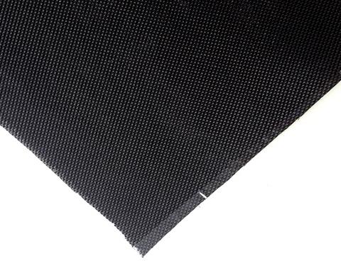 черная негорючая кремнеземная ткань