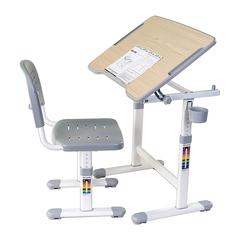 Парта и стул Piccolino II Grey