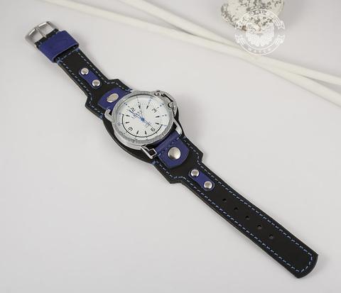 WLS139 Оригинальный браслет из кожи двух цветов