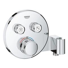 Термостат встраиваемый на 2 потребителя Grohe Grohtherm SmartControl 29120000 фото