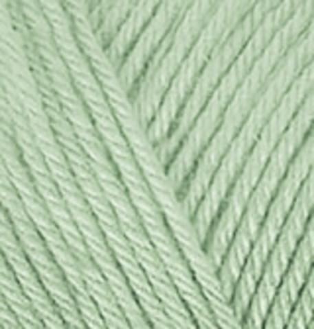 Пряжа Diva Plus Alize 375 Зеленая мята, фото