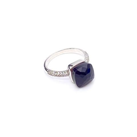 33355-Кольцо из серебра CARAMEL