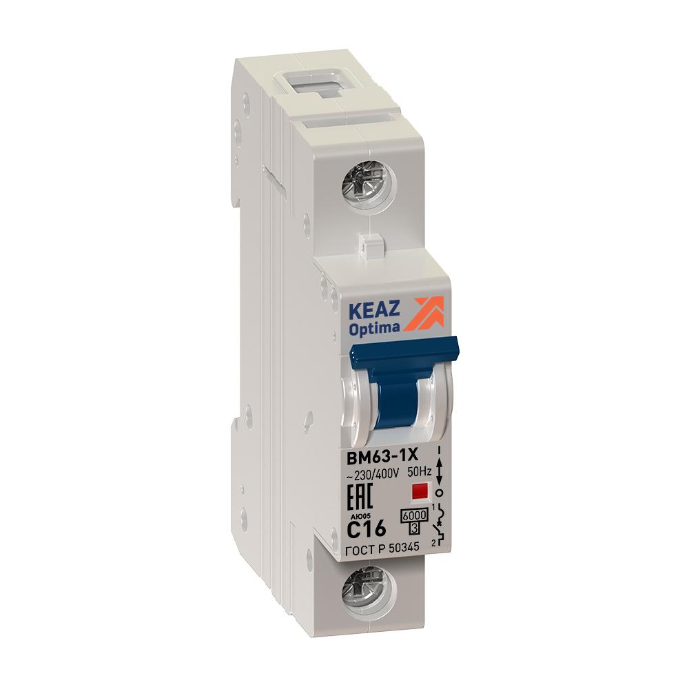 Автоматический выключатель ВМ63-1ХD 32А