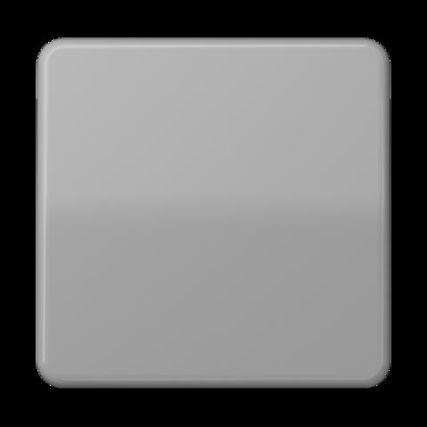 Выключатель одноклавишный. 10 A / 250 B ~. Цвет Блестящий серый. JUNG CD. 501U+CD590BFGR