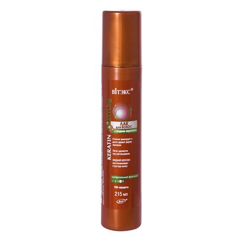 Витэкс Keratin Styling Лак для волос с жидким кератином суперсильной фиксации 215 мл