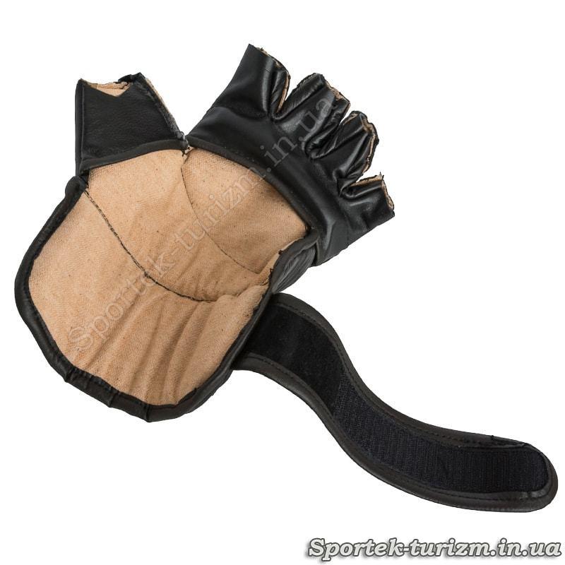 Перчатки для панкратиона - вид изнутри