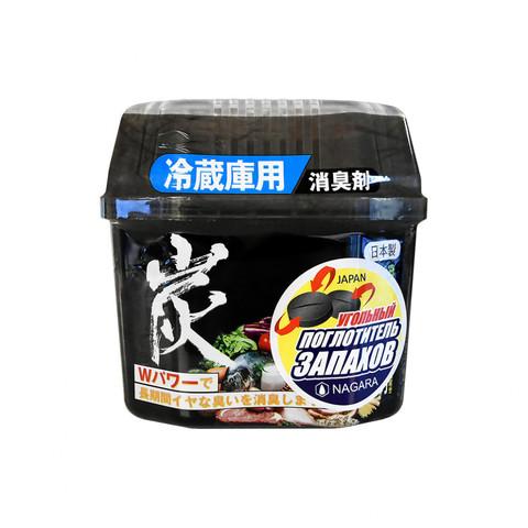 Древесный уголь для устранения запаха в холодильнике Nagara 160 гр