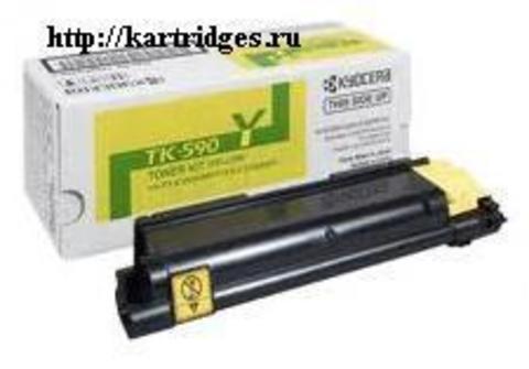 Картридж Kyocera TK-590Y