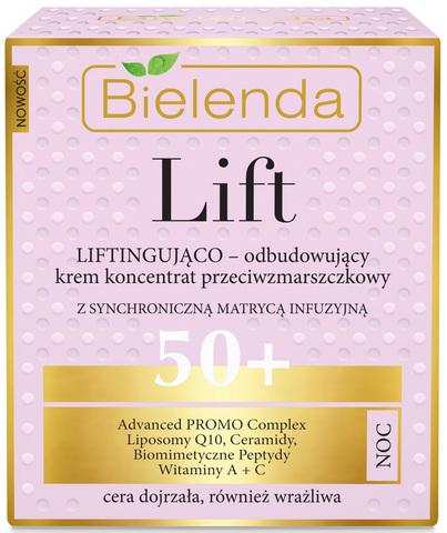 LIFT Восстанавливающий лифтинг крем-концентрат против морщин 50+ ночной, 50 мл