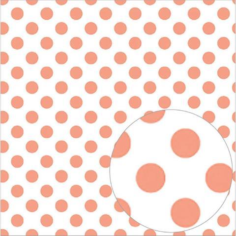 Ацетатный лист  30 х30 см - Bazzill Printed Acetate Dots Sheets  - Roselle