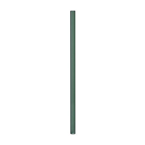 Трубочка стеклянная прямая 20 см изумрудная