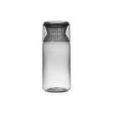 Пластиковая банка с мерным стаканом (1,3 л), Серый, артикул 291005