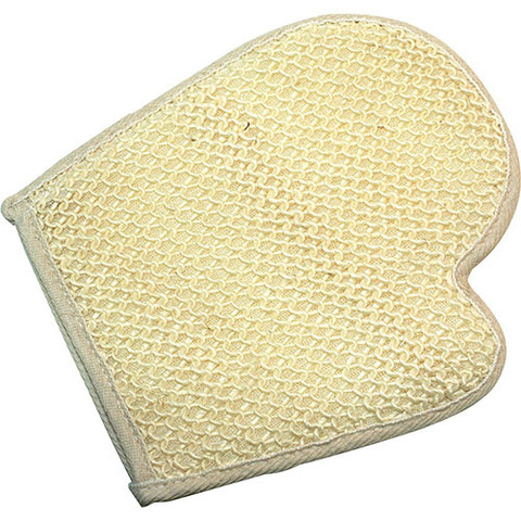 Рукавица из сизаля мелкой вязки