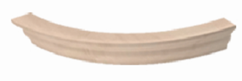 карниз верхний торцевой полукруглый МВ-32
