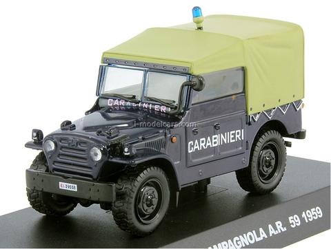 Fiat Campagnola 1959 1:43 DeAgostini World's Police Car Special edition #1