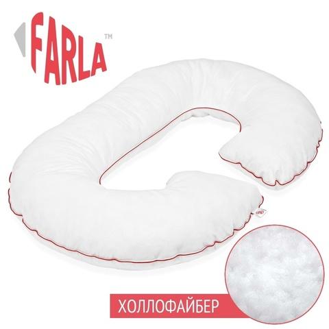 Farla. Подушка для беременных с холлофайбером Care C, вид 1