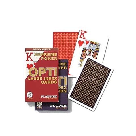 Карты игральные Покер опти (OPTI)