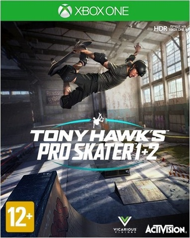 Xbox One Tony Hawk's Pro Skater 1 + 2 (английская версия)