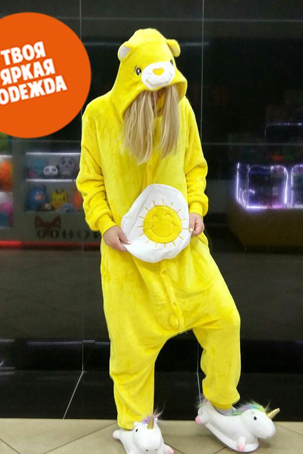 Пижамы кигуруми Заботливый Мишка Funshine мишка_SH.jpg