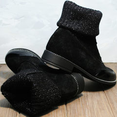 Полуботинки женские Kluchini 5161 k255 Black