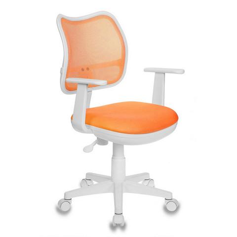 Кресло детское Бюрократ CH-W797 (ткань/сетка оранжевая)