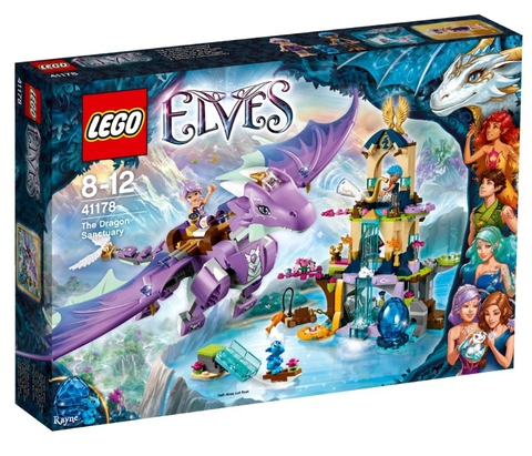 LEGO Elves: Логово дракона 41178 — Elf Dragon Sanctuary — Лего Эльфы