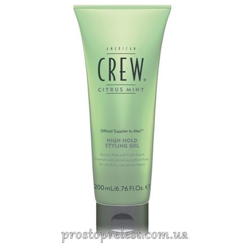 American Crew Citrus Mint High Hold Styling Gel Гель для стайлинга