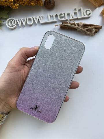Чехол iPhone XR Swarovski Case /purple/