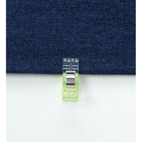 Клипсы для ткани Clover Neon Green 50 шт