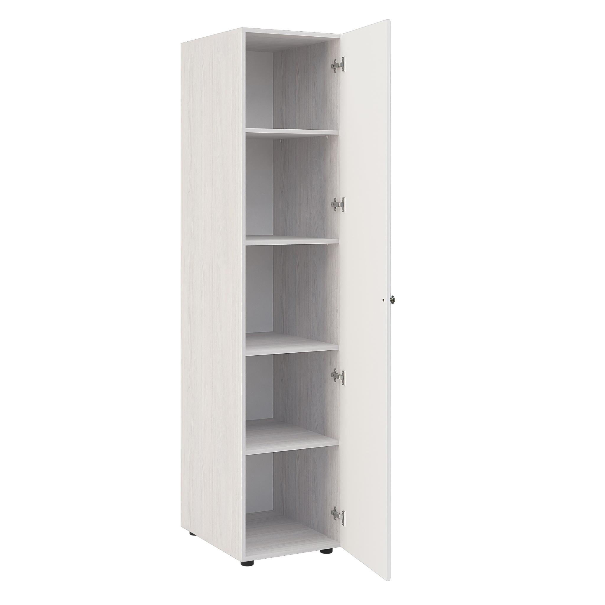 Шкаф одностворчатый ШК-721  450 х 2031 х 574 мм
