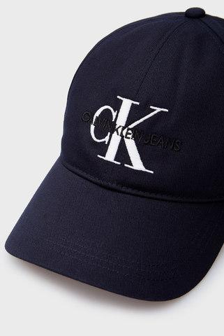 Мужская темно-синяя кепка CKJ MONOGRAM Calvin Klein