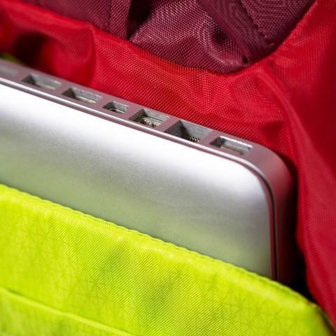 Картинка рюкзак для ноутбука Osprey Flare 24 New Green Apple