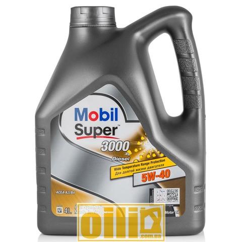 Mobil SUPER 3000 x1 DIESEL 5W-40 4L