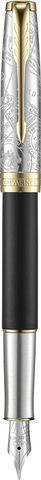 Перьевая ручка Parker Sonnet Special Edition 2018 Impression Matte Black GT123
