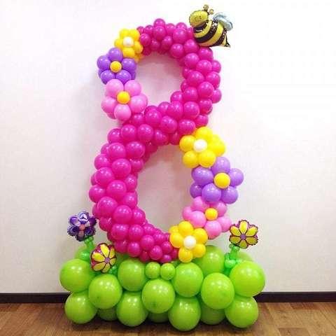 Большая цифра 8