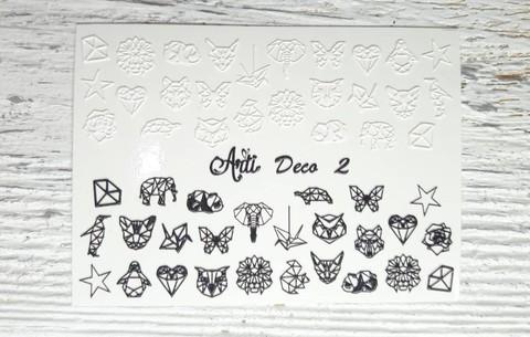 Слайдер Arti 3D Deco № 002