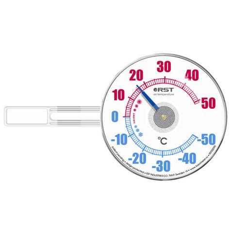 Термометр биметаллический на липучке RST 02095