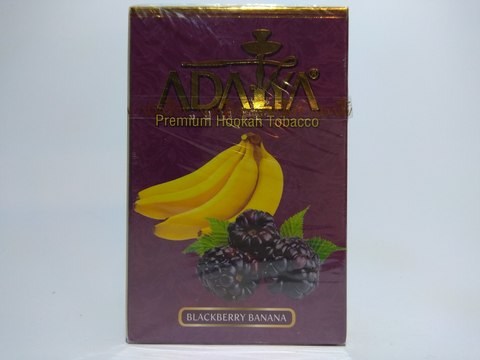 Табак для кальяна ADALYA Blackberry Banana 50 g