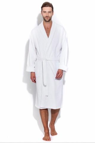 Махровый банный мужской халат 363  EVAТекс (Россия)