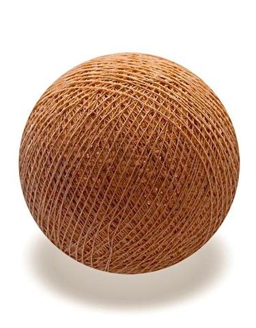 Хлопковый шарик бронза