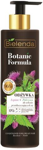BOTANIC FORMULA Кондиционер для жирных волос ЛОПУХ+КРАПИВА, 245мл