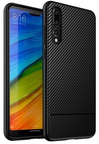 Чехол под карбон на Huawei P20 Pro ультра тонкий, серии Fit от Caseport