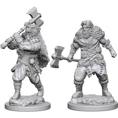 D&D Nolzur's Marvelous Miniatures - Human Male Barbarian